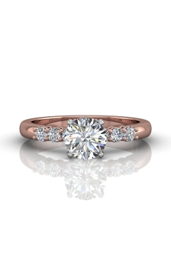 Martin Flyer FlyerFit Channel & Shared Prong Engagement Ring DERSP02AXSTTPQ-F-6.0RD product image