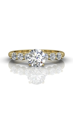 Martin Flyer FlyerFit Channel & Shared Prong Engagement Ring DERSP02ASYQ-D-6.5RD product image