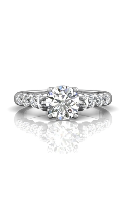 Martin Flyer FlyerFit Channel & Shared Prong Engagement Ring DERSP04MRPL-C-7.0RD product image