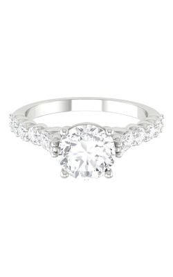 Martin Flyer Channel & Shared Prong Engagement ring DERSP03XSQ-D-6.5RD product image