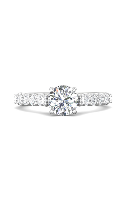 Martin Flyer Channel & Shared Prong Engagement ring DERSP03XSQ-F-6.5RD product image