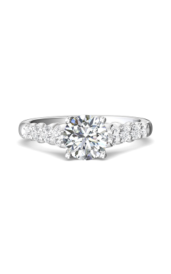 Martin Flyer Channel & Shared Prong Engagement ring DERSP04MRQ-D-7.0RD product image