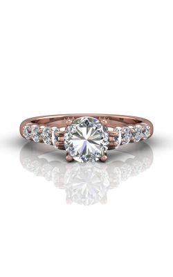 Martin Flyer Channel & Shared Prong Engagement ring DERSP04MRPQ-D-7.0RD product image