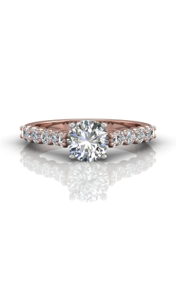Martin Flyer Channel & Shared Prong Engagement ring DERSP03XSTTPZ-C-6.5RD product image