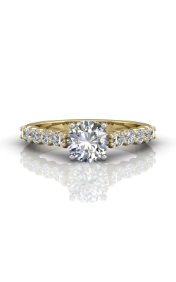 Martin Flyer Channel & Shared Prong Engagement ring DERSP03XSTTYQ-C-6.5RD product image