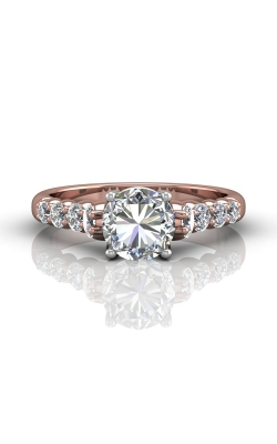 Martin Flyer Channel & Shared Prong Engagement ring DERSP04MRTTPQ-F-7.0RD product image