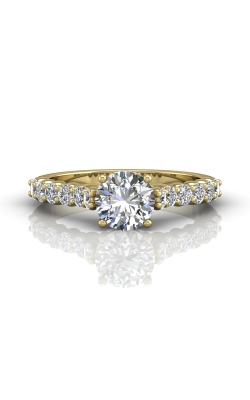 Martin Flyer Channel & Shared Prong Engagement ring DERSP03XSYQ-F-6.5RD product image