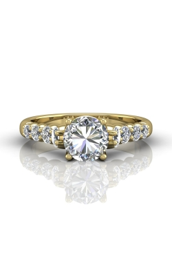 Martin Flyer Channel & Shared Prong Engagement ring DERSP04MRYZ-F-7.0RD product image