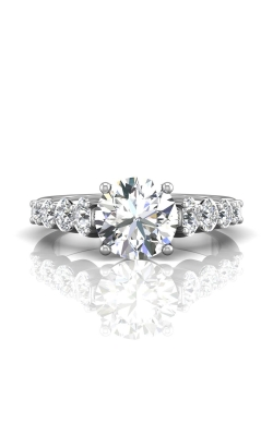 Martin Flyer Channel & Shared Prong Engagement Ring DERSP05MPL-C-8.0RD product image