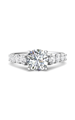 Martin Flyer Channel & Shared Prong Engagement ring DERSP05MPL-F-8.0RD product image
