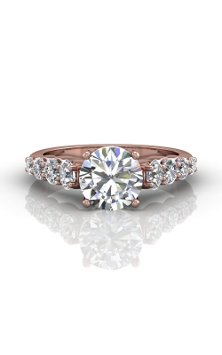 Martin Flyer Channel & Shared Prong Engagement ring DERSP05MPZ-D-8.0RD product image