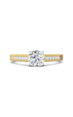 Martin Flyer Channel & Shared Prong Engagement ring VC06TTYQ-AENG-F-6.5RD product image