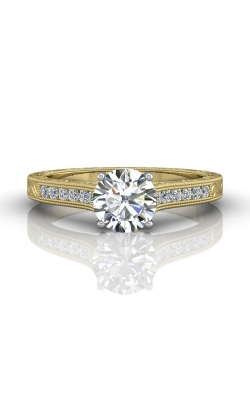 Martin Flyer Channel & Shared Prong Engagement ring VC06TTYZ-AENG-F-6.5RD product image