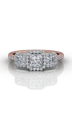 Martin Flyer Three Stone Engagement ring DERT03PCTTPQ-D-4.5PC product image