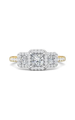 Martin Flyer Three Stone Engagement ring DERT03PCTTYQ-D-4.5PC product image