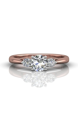 Martin Flyer Three Stone Engagement ring DERT02XSTTPQ-F-5.5RD product image
