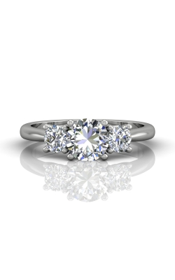Martin Flyer FlyerFit Three Stone Engagement Ring DERT01SPL-C-6.5RD product image