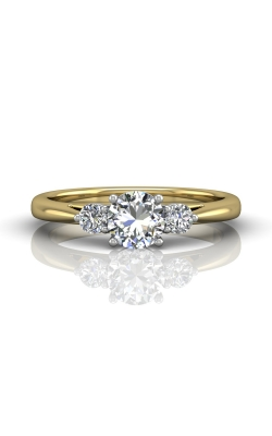 Martin Flyer Three Stone Engagement ring DERT02XSTTYQ-F-5.5RD product image