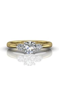 Martin Flyer FlyerFit Three Stone Engagement Ring DERT02XSTTYQ-F-5.5RD product image