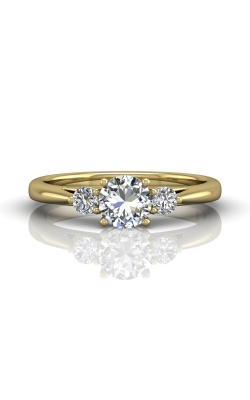 Martin Flyer FlyerFit Three Stone Engagement Ring DERT02XSYQ-C-5.5RD product image