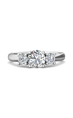 Martin Flyer Three Stone Engagement ring DERT01SQ-F-6.5RD product image