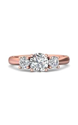 Martin Flyer Three Stone Engagement ring DERT01SPQ-D-6.5RD product image