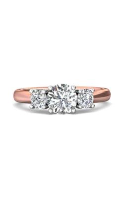 Martin Flyer Three Stone Engagement ring DERT01STTPQ-C-6.5RD product image
