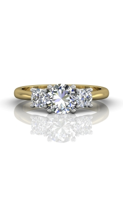 Martin Flyer Three Stone Engagement ring DERT01STTYQ-D-6.5RD product image