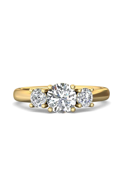 Martin Flyer Three Stone Engagement ring DERT01SYZ-D-6.5RD product image