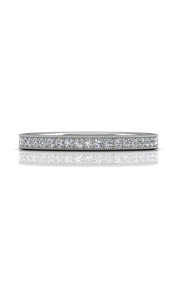Martin Flyer Micropave Bead Set Wedding band DWBM1Q-.25-F product image
