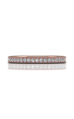 Martin Flyer Micropave Bead Set Wedding band DWBM1PQ-.25-C product image