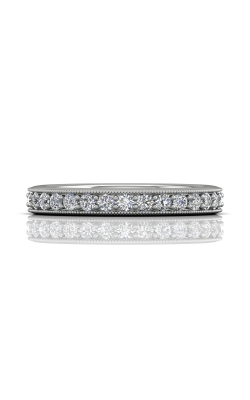 Martin Flyer Micropave Bead Set Wedding Band DWBM1PL-.50-C product image