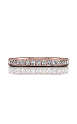 Martin Flyer Micropave Bead Set Wedding band DWBM1PQ-.35-C product image