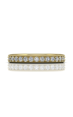 Martin Flyer Micropave Bead Set Wedding band DWBM1YQ-.50-D product image