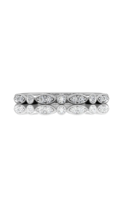 Martin Flyer Micropave Bead Set Wedding Band DWBM9PL-C product image