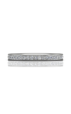 Martin Flyer Micropave Bead Set Wedding band DWBM3Z-.25-D product image