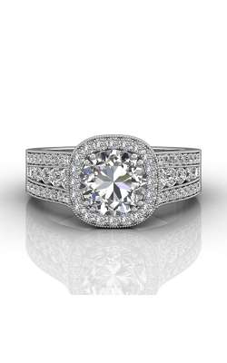 Martin Flyer Remount Engagement ring CC06RDCUPL-C-7.5RD product image