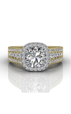 Martin Flyer FlyerFit Remount Engagement Ring CC06RDCUTTYQ-D-7.5RD product image