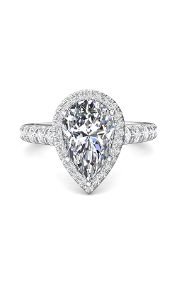 Martin Flyer Encore Vintage Engagement Ring DERMH34SPSQ-F-12.5X8PS product image