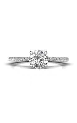 Martin Flyer Micropave Engagement Ring DERM4XXSQ-F-6.5RD product image