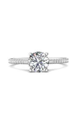 Martin Flyer Micropave Engagement Ring DERM30Q-F-7.0RD product image