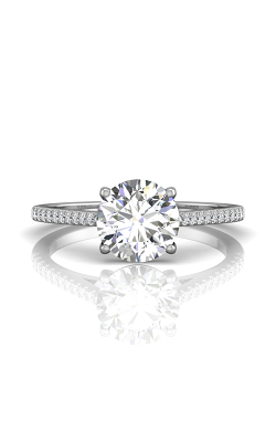 Martin Flyer Micropave Engagement Ring DERM18XSRQ-F-8.0RD product image