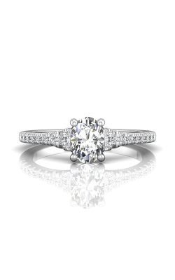 Martin Flyer Micropave Engagement ring DERM79Q-F-7.3X5.3OV product image