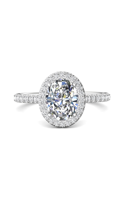 Martin Flyer Micropave Halo Engagement ring DERMH4XSOVQ-F-9X7OV product image