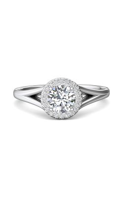 Martin Flyer Split Shank Engagement Ring DERM50XSQ-F-6.0RD product image