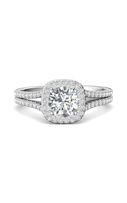 Martin Flyer Split Shank Engagement Ring CM09SCUQ-F-6.5RD product image