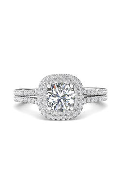 Martin Flyer Split Shank Engagement Ring CM10XSCUDBLQ-F-6.5RD product image