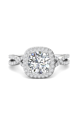 Martin Flyer Split Shank Engagement Ring DERMH27XSCUQ-F-8.0RD product image