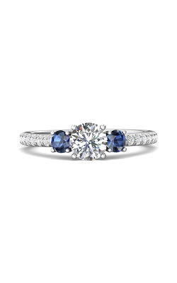 Martin Flyer Flyer Fit Three Stone Engagement Ring DERT08RDAQ-F-5.7RD product image
