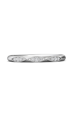 Martin Flyer Micropave Bead Set Wedding Band DWBM31XSQ-F product image